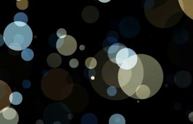 梦幻闪烁光斑圆点循环背景视频素材
