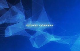 AE模板 经典数字科技空间企业logo宣传模板 AE素材