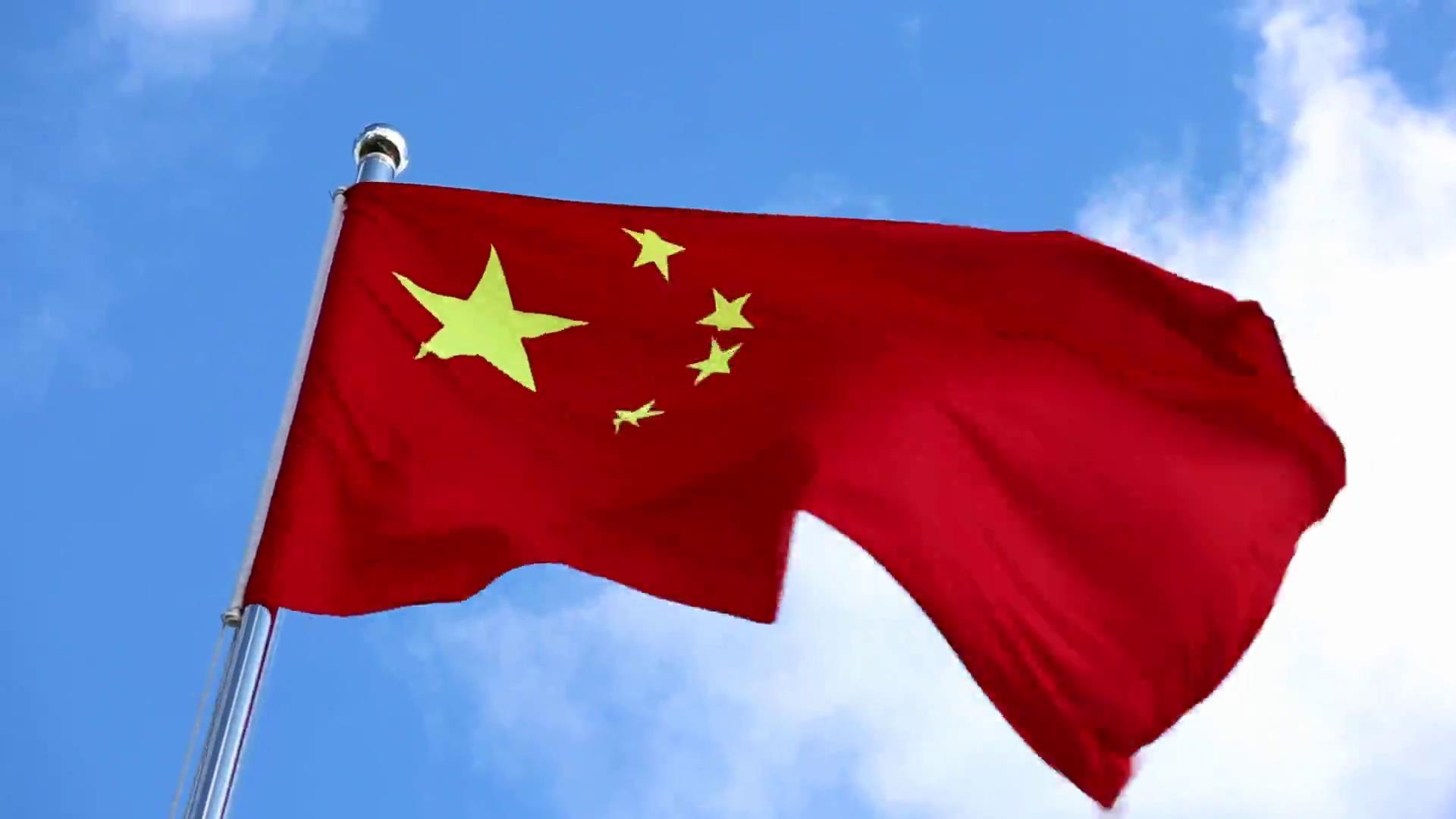 中国好声_【素材推荐】升起的五星红旗国旗飘扬视频素材-92素材网_AE模板 ...