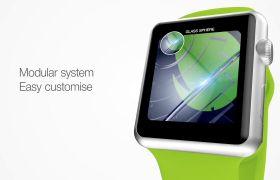 AE模板 智能手表APP功能演示推广宣传模板 AE素材