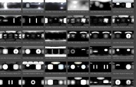 C4D灯光绑定渲染插件+GSG灰猩猩高动态HDRI贴图合集
