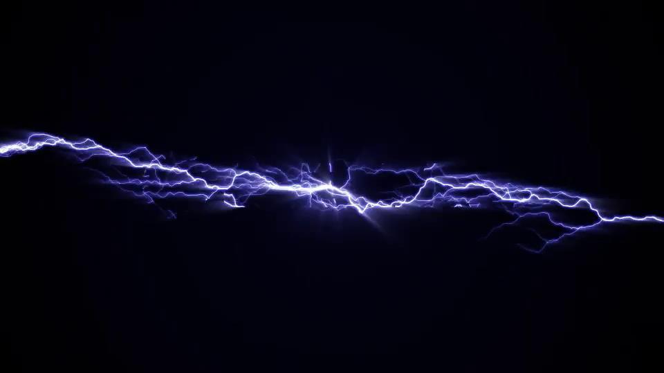 ae模板 炫酷闪电能量发光logo特效模板 ae素材