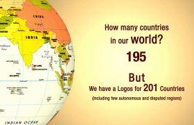 AE模板 世界国家地图标志标题包装动画模板 AE素材