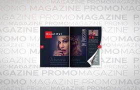 AE模板 时尚杂志快速翻页动态展示推广模板 AE素材