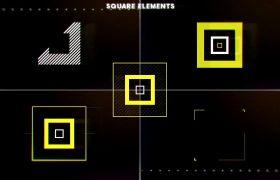 AE模板 炫丽震撼光束粒子开场运动演绎logo标志特效模板 AE素材