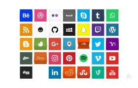 AE模板 专业动画风格社交媒体模板 AE素材