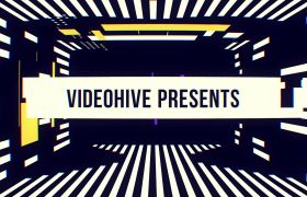 炫酷现代设计色彩控制音乐宣传片模板 AE素材