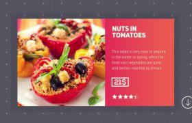 准确简洁网上商店高画质餐厅服务人物开场模板 AE素材