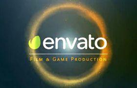炫酷快速数字娱乐电子竞技终极逼真动作动画电影游戏制作标志模板