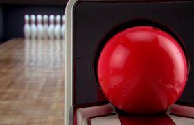 室內保齡球運動一擊即中高清實拍