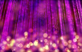 紫色炫丽梦幻粒子线条LED舞台背景视频