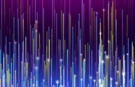 抽象科技感颗粒光束线条运动背景视频素材
