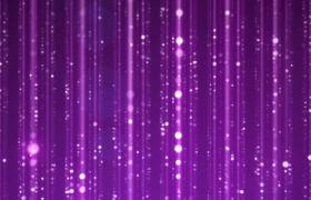 梦幻紫色星光粒子闪耀led舞台背景视频