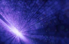 唯美紫色炫光粒子光束穿梭特效LED舞台背景视频素材