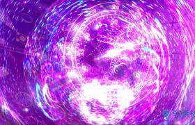 震撼动感无限循环时间时光流逝视频素材