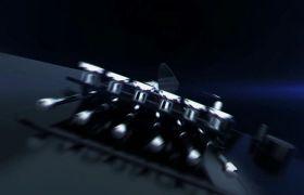 大气光滑科技质感企业宣传开场会声会影X8模板