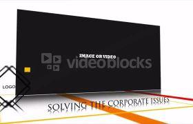 简洁商务企业屏幕展示视频宣传模板