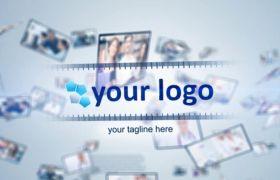 商务企业多图文幻灯片展示宣传模板AE素材