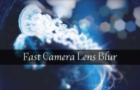 AE+Premiere镜头模糊虚焦插件 Aescripts Fast Camera Lens Blur v4.1 Win