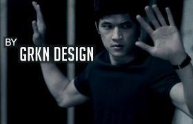 时尚动作电影标题字幕视频包装开场模板