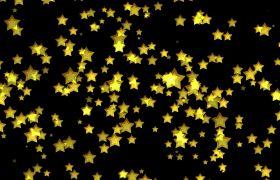 密集五角星星运动动画背景视频