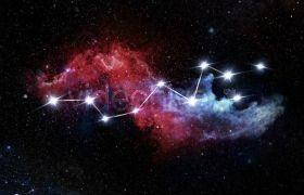 炫酷浩瀚星空背景多种风格字幕标题LOGO标志展示AE素材