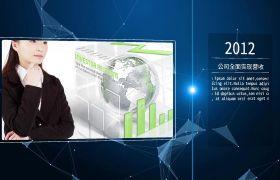 高端现代科技感企业历程时间线公司商务展示宣传片AE素材