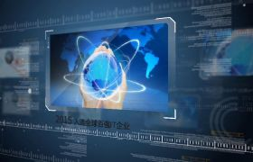 高端大气现代科技感公司历程时间线企业商务宣传片AE素材
