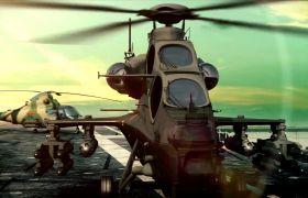 中国航母辽宁舰军事视频海军宣传片特效视频