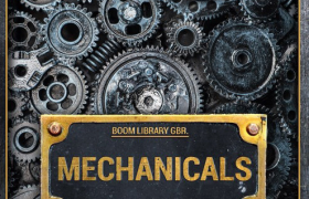 金属钢铁工?#20826;?#36718;转动无损音效库 Boom Library Mechanicals Construction Kit