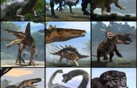 C4D模型 C4D恐龙模型下载