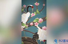 古风国潮创意感国韵文化宣传背景包装竖屏小视频AE素材