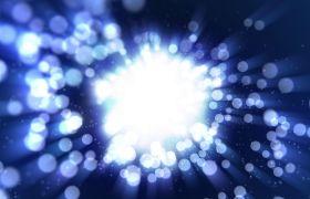 抽象梦幻发散光点粒子动态背景视频素材