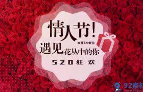 浪漫时尚图文快闪展示520网络情人节活动宣传片AE素材