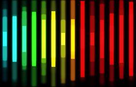 彩色动感音频高低变化动态视频素材