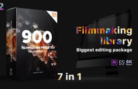 Pr模板�A�O:900�N文字�祟}�D�銎��^�{色�∑ �X特效包 Premiere Effects Pack v2+使用教程