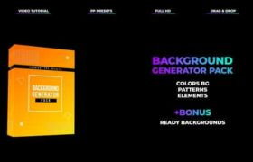Premiere�A�O:61���r尚�u��印赢�背景Pr�A�OBackground Generator Pack