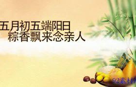 AE素材 典雅中国风端午节传统文化宣传片头模板