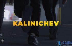 潮流时尚图文鼓点节奏展示活动宣传视频包装AE素材