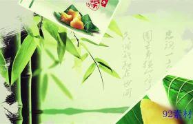 典雅水墨晕染图文展示传统节日端午节ae模板