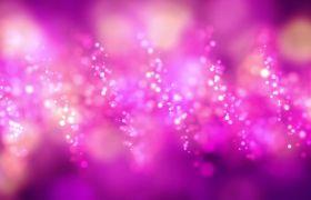 炫丽闪耀粉色粒子动感舞台背景led视频素材