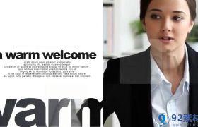 简约明了现代感图文视频包装创意公司宣传片AE模板