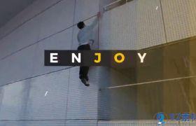 动感潮流快节奏活动宣传视频包装图文展示AE模板