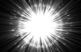 震撼炫酷白色光环发光背景视频素材