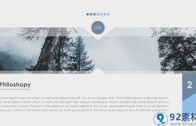 简?#21363;?#27668;图文幻灯片效果展示企业商务宣传视频AE模板