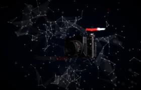 炫酷动态相机宣传AE动态模板