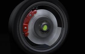 ?轮胎产品动态宣传AE特效模板