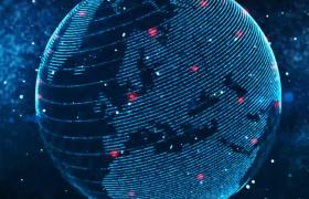 数字地球开启者动画特效AE模板