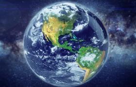 旋轉地球科技定位宣傳視頻