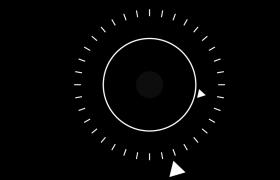 科技動感自制圓形動畫
